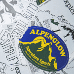 Alpenglow Wear Free Stickers